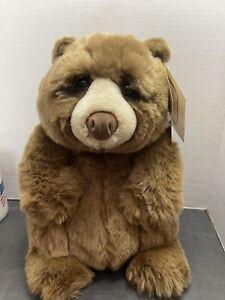 "NWT DAKIN Lou Rankin Friends 12"" Jasper Plush Teddy Bear Applause"
