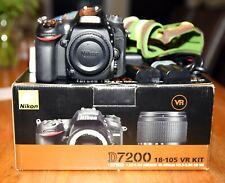 Nikon D7200 DX-Digitalkamera in gutem Zustand,  26.000 Auslösungen