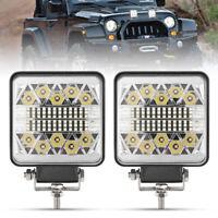 15000LM 2PCS LED Work Lights CREE LED Flood Light for ATV UTV SUV Boat Tractor