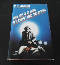 Una notte di luna per l'ispettore Dalgliesh - P.D. James - Edizione Rilegata -