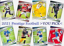 2021 Panini Prestige Football **You Pick** Base Set #1 - 300 and Rookies