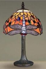 DRAGON TIFFANY STYLE HANDCRAFTED TABLE LAMPS MEDIUM SIZE 12 INCH WIDE