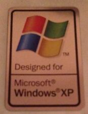 Original Designed for Microsoft Windows XP Sticker 17 x 25.5mm (1) Free Shipping