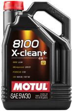 Motul 8100 X-CLEAN EFE C2/C3 5W-30 5L Huile de Moteur (107206)