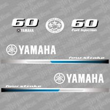 Yamaha 60 four stroke outboard (2013) decal aufkleber addesivo sticker set