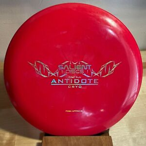 Salient Discs First Run Antidote Cryo plastic - 174g Disc Golf