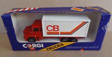 Corgi Toys Trucks - KIKO BRAZIL - Scania container truck - CB - Brazilian MIB