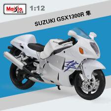 Genuine 1:12 Scale Suzuki GSX 1300R Hayabusa Diecast Alloy Model Motorcycles