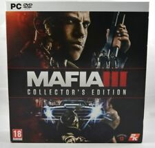 MAFIA III 3 - Collector's Edition PC EURO FR - COMPLETE & Mint condition !!!