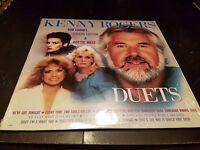 Kenny Rogers / Kim Carnes / Sheena Easton - Duets Vinyl Record LP - Liberty