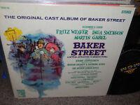 Fritz Weaver/Inga Swenson/Martin Gabel LP OST Baker Street MGM Sherlock Holmes