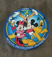 TIN BOX COMPANY Walt Disney MICKEY MINNIE DONALD GOOFY PLUTO Cookie Container