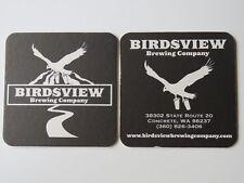Beer COASTER ~ BIRDSVIEW Brewing Co ~ Concrete, WASHINGTON ~ Eagle Carrying Brew
