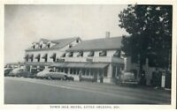 Vintage RPPC Little Orleans Maryland Md Postcard Town Hill Hotel Roadside