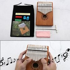 More details for 17 keys kalimba thumb piano finger instrument for boys and girls musical toy