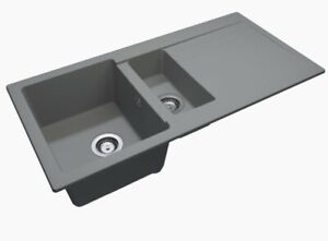 Granmaster Riva 150 Quartz Sink 4 Various Colours Fast & Free UK Seller