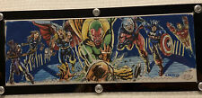 2017 UD Marvel Premier Sketch 4 Panel Behold The Vision Avengers Dominic Racho