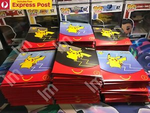 1x MCDONALDS x POKEMON 25th ANNIVERSARY HAPPY MEAL PROMO CARD PACK - PIKACHU?