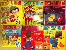 LOT 6 livres POMME D'API 3-7 ans
