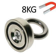 30mm x 25mm Neodymium Iron Boron Circular Rings Salvage Magnet N52 Grade