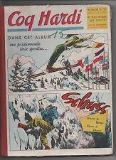 COQ HARDI Album n°15. Nouvelle série n°183 à 196 - 1954.