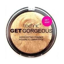 Technic Get 24 Ct Gold Highlighting Powder 6g
