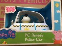 Peppa Pig Vehicle PC Panda's Police Car