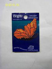 Applique- Iron On - Orange Butterfly