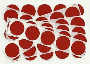 50 x 1 Inch Round Orange Scratch Off Stickers - Birthday, Wedding, Hen & Stag