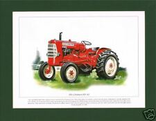 SUPERB MOUNTED PRINT - ALLIS - CHALMERS ED - 40 TRACTOR