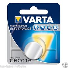 Pile bouton Varta Cr2016