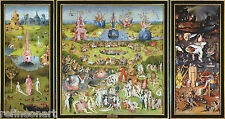 The Garden of Earthly Delights Hieronymus Bosch Giclee Canvas Print