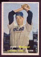1957 TOPPS DON KAISER CARD NO:134 EXMINT CONDITION