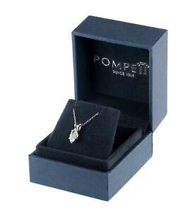 Gorgeous 1/2 Ct Marquise Diamond Pendant by Pompeii3 Includes Box
