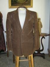Vintage Pioneer Wear Corduroy Leather tool trim Sport Coat WESTERN Jacket sz 40