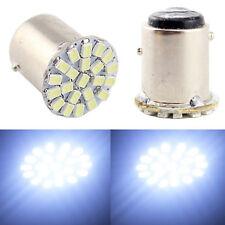 10Pcs DC 12V Light BAY15D 22 SMD LED Car Bulbs Tail Break Stop Turn Signal Light