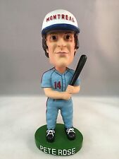 PETE ROSE MONTREAL EXPOS 2002 BOBBLE DREAMS BOBBLEHEAD 4,000 HIT LIMITED