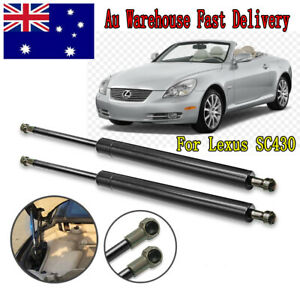 Rear Air Charged Struts Boot Rod Lift Support For Lexus SC430 UZZ40 2001-10 2pcs