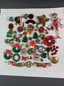 Big Lot of Fun Christmas Theme Crafting Pieces
