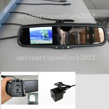"Normal car rearview mirror+3.5""LCD+camera,fit Ford Toyota Nissan Honda Dodge Kia"