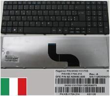 Qwerty Keyboard Italian ACER TM8571 KB.I170A.214 9Z.N3M82.S0E 0KN0-YX1IT03 Black