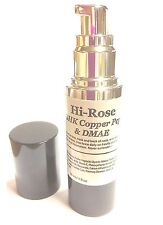ModelSupplies Dmae Ghk Copper Peptide Peptides Msm RoseHip Serum Hi-Rose 30