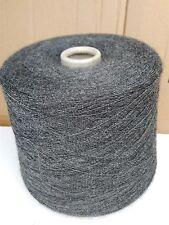 fil a tricoter laine fine serpentine Mérinos  gris-noir 940 grammes