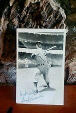 1951 Gene Hermanski signed autograph 6x4 Postcard Baseball Player