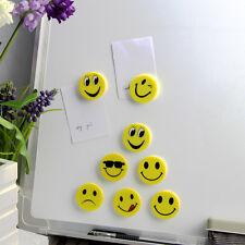 16 Stück 4cm Magnete Kühlschrankmagnete Smiley Grins Smile Magnet Set Dekomagnet