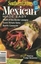 Southern Living MEXICAN MADE EASY  Cookbook June 1997 140 Recipes