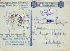 C4276) WW2 AVIAZIONE BOLLO DEL R. AEROPORTO N° 801 DISLOCATO A RODI (EGEO).