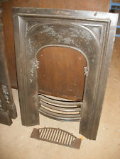 Reclaimed Victorian cast iron bedroom fireplaces