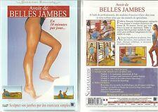 DVD - AVOIR DE BELLES JAMBES : SCULPTEZ VOS JAMBES EN 10 MIN/JOUR / NEUF EMBALLE