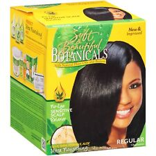 Botanicals 3 Natural Plant Extracts Detangle & Protection Relaxer Kit Regular